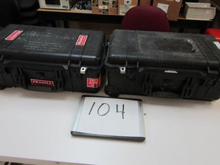 Pair   Pelican Cases   1510 Air carry on Case   In