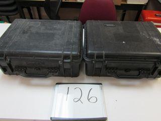 Pair Pelican 1550 Protector Case   Interior  18 6