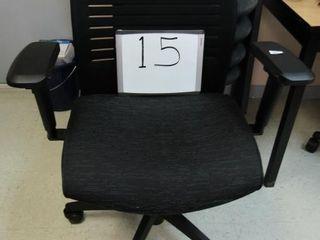 Chair  air grid manager s chair  black