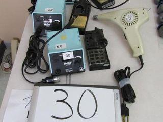 Weller   EC1002 1  Soldering station  analog  w g