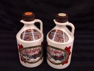 2X 1l BOTTlES OF MAPlE SYRUP FROM DANBROOK FARMS