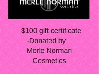 100 GIFT CERTIFICATE TO MERlE NORMAN
