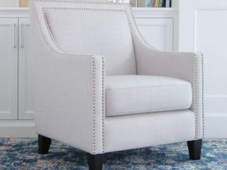Abbyson Adrienne Nailhead Accent Chair Retail 328 16