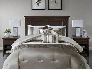 Madison Park Eastridge 7 piece Comforter Set Retail 149 19