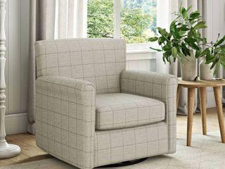 Copper Grove Fred Modern Rolled Arm Swivel Club Chair Retail 459 49