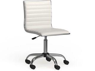 Carson Carrington lund Chrome Contemporary Office Chair Retail 79 98