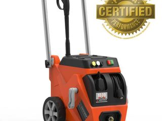 Yard Force 1800 PSI Electric Pressure Washer with live Hose Reel and Turbo Nozzle Retail 159 97