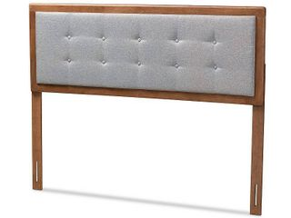 Carson Carrington Ulvik Fabric Mid century Headboard  Retail 134 49