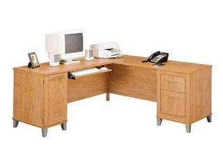 Copper Grove Shumen 72 inch l shaped Desk  Retail 543 49