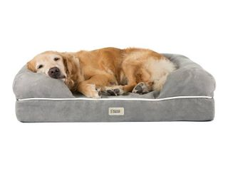 Friends Forever Hastings Pet Couch with Solid Memory Foam Jumbo Size  Retail 203 99