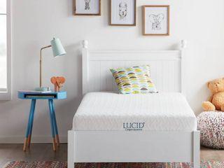 lUCID Comfort Collection 6 inch Gel Memory Foam Mattress  Retail 214 49
