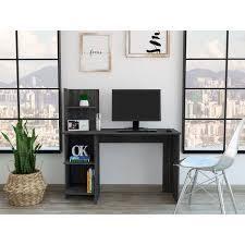 TUHOME Viilna 120 Computer desk with bookshelf  Retail 149 49