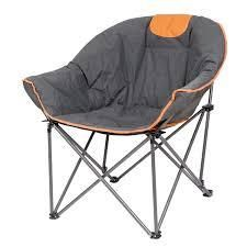 Sofa Chair  Oversize Padded Moon leisure Portable Stable Comfortable Folding Chair  Retail 94 49