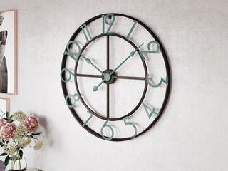 Makel large Wall Clock   31 5 H x 31 5 W x 2 D   Retail 95 00