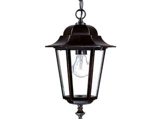 Acclaim lighting Camelot Collection Hanging lantern 1 light Outdoor Architectural Bronze light Fixture