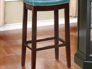 linon Claridge Bar Stool  30 inch Seat Height