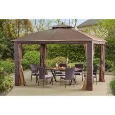 Sunjoy Replacement Canopy for Riviera Gazebo  10 X12  l GZ815PST  Retail 181 49