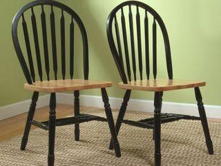 Simple living Carolina Windsor Dining Chairs  Set of 2  Retail 126 99