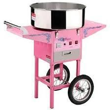 Great Northern Popcorn Commercial Cotton Candy Machine Floss Maker with Cart  Retail 443 99