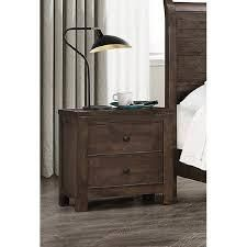 The Gray Barn Springing Water Modern Rustic 2 drawer Nightstand  Retail 174 49