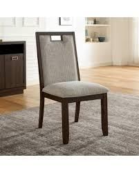 Furniture of America Mair Transitional Beige Side Chairs  Set of 2  Retail 261 49