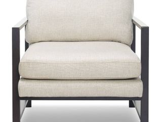 Tommy Hilfiger Russell Metal Frame Accent Chair  Retail 267 49