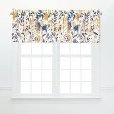 2 Natural Home Window Curtain Valance Set of 2   15 5 x 72