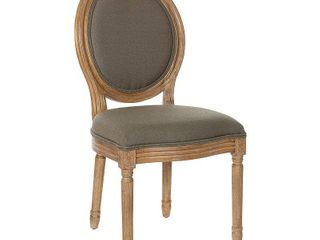 The Gray Barn Homestead Oval Shield Back Dining Chair  Retail 136 49