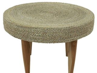 Water Hyacinth Side Table  Retail 123 99