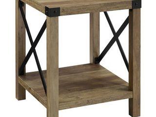 The Gray Barn 3 piece Metal X Table Set  Retail 391 49