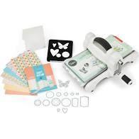 Sizzix Big Shot Starter Kit Grey   White Machine  Retail 112 98
