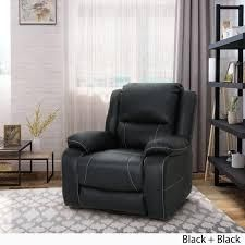 Malic Tufted Faux leather Swivel Recliner by Christopher Knight Home  Retail 429 99