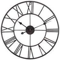 The Gray Barn Distressed Roman Round Wall Clock  Retail 109 49