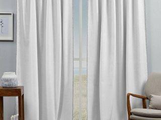 ATI Home Marabel lined Blackout Hidden Tab Top Curtain Panel Pair  Retail 88 99