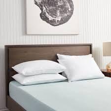 cozy classic cotton dobby down pillows king white