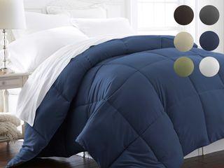 Premium Ultra Soft Down Alternative Comforter   Navy