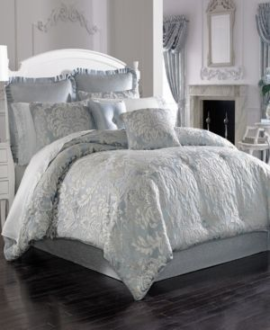 Five Queens Court Faith California King Comforter Set Bedding