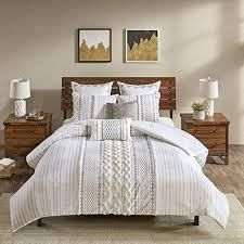 The Curated Nomad Clementina Cotton Printed Chenille Comforter Set  Retail 117 32