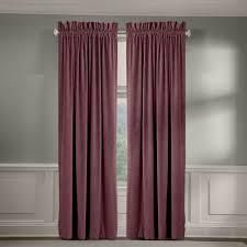 Veratex Cotton Velvet Soft luxury Grommet Set if 2 Curtain Panels