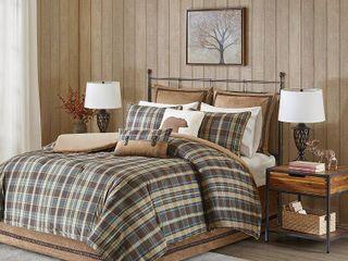 Woolrich Hadley Plaid Multi Comforter Mini Set  Retail 127 48