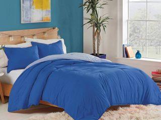 Utica Recycled Microfiber Reversible Comforter Set