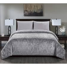 Versaille Blanket King Gray