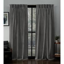Porch   Den Kapalua linen Pinch Pleat Window Curtain Panel Pair