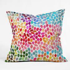 Deny Designs Garima Dhawan  Rain 6  Polyester Throw Pillow set of 2