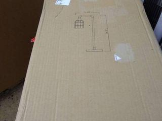 Kenroy Home leavenworth single light 28 25in tall arc desk lamp