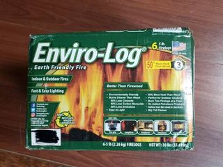Enviro log 5lb Firelogs   6 Pack