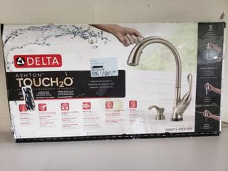 Delta Ashton Touch2o Stainless Steel Pull Down Kitchen Faucet