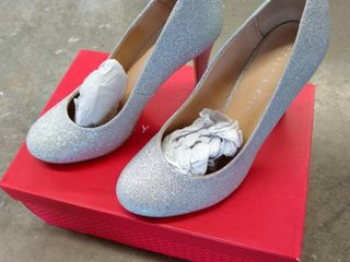 Kelly and Katie larrissa Silver Womens High Heels  Size 6