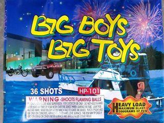 Big Boys Big Toys  36 Shot Heavy load Fireworks
