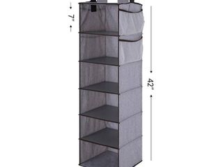 StorageWorks Fabric Closet Organizer